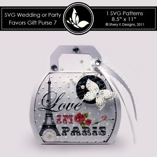 SVG & Printable Favors Gift Purse 7  Shery K Designs    Mygrafico