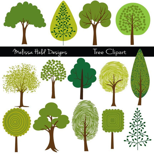 Tree Clipart Cliparts Melissa Held Designs    Mygrafico