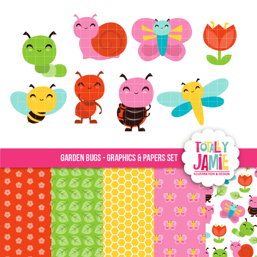 Garden Bugs Set Bundle Totally Jamie    Mygrafico