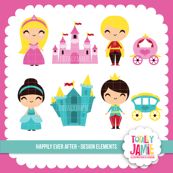 Happily Ever After Set Clipart Totally Jamie    Mygrafico
