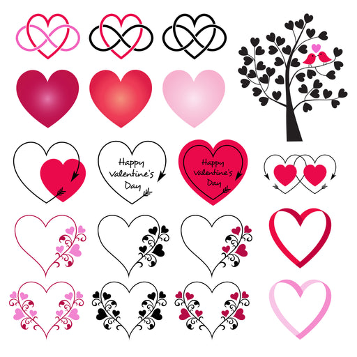 Valentine's Day Hearts Clipart Cliparts Melissa Held Designs    Mygrafico