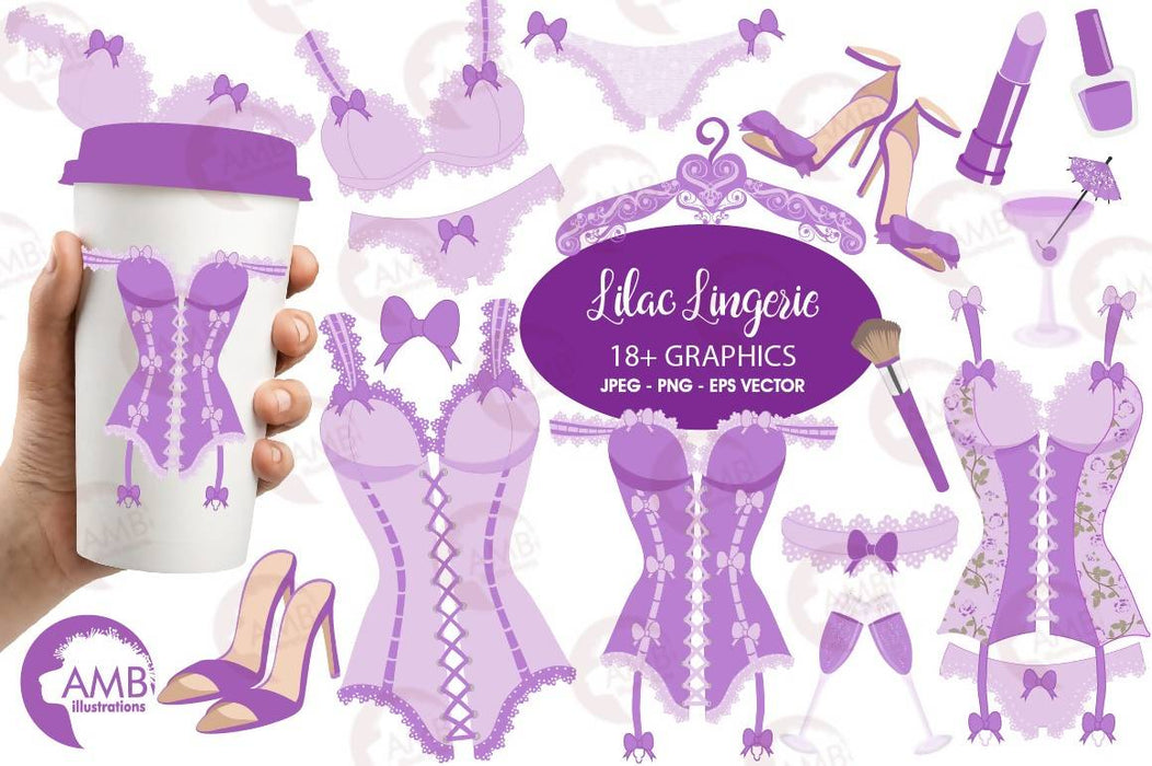 Bachelorette Clipart, Bachelorette Party Clipart, Lingerie Clipart, Corset, Wedding, Girls Night Out Clip Art, Commercial Use, AMB-2210 Cliparts AMBillustrations    Mygrafico