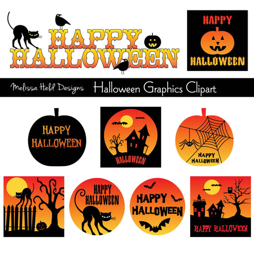 Halloween Graphics Cliparts Melissa Held Designs    Mygrafico
