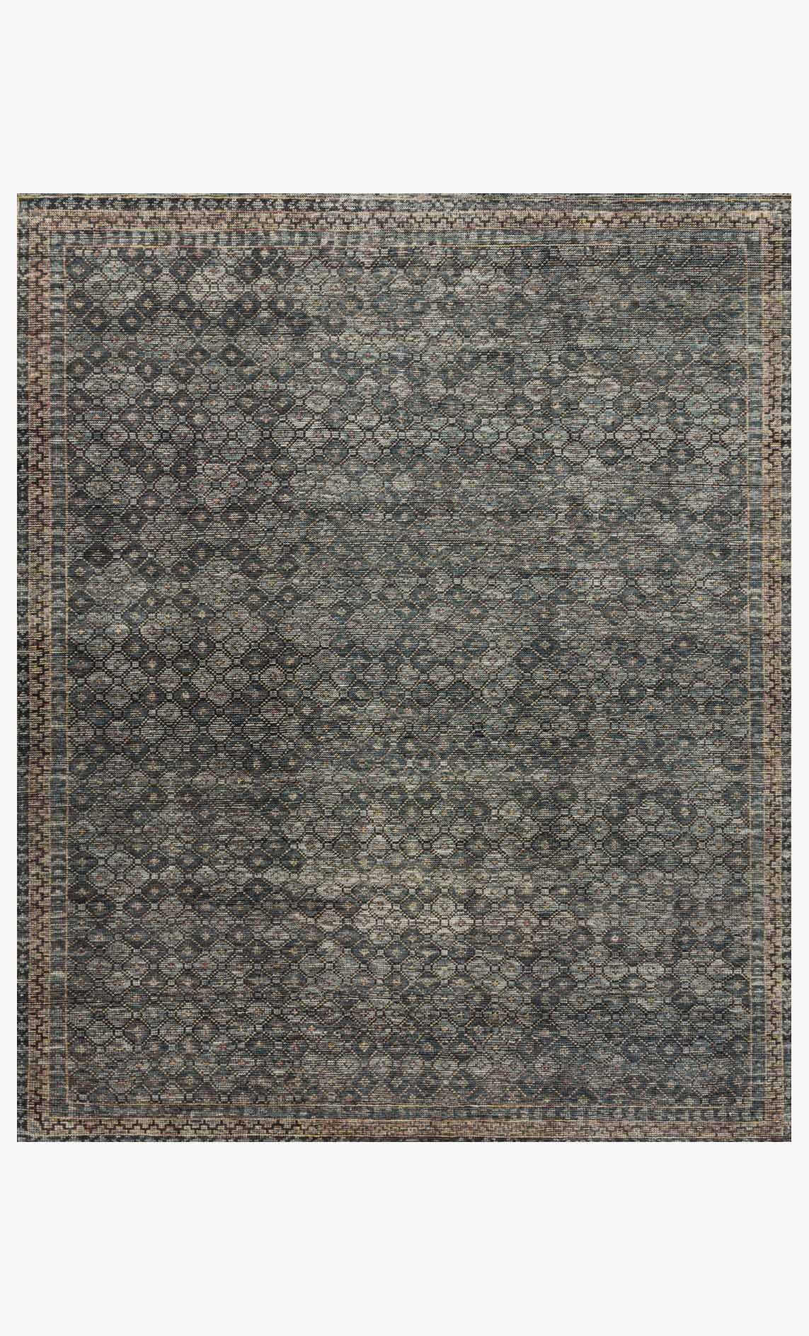 Amm 01 Ink Turquoise Loloi Rugs