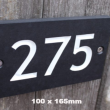 Eco-Friendly Personalised House Sign