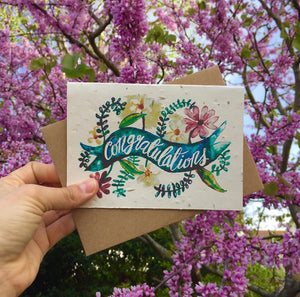 Plantable Wildflower Greetings Card