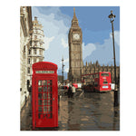London Oil Painting by Numbers