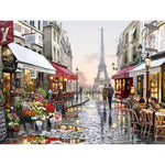 Paris Oil Painting By Numbers