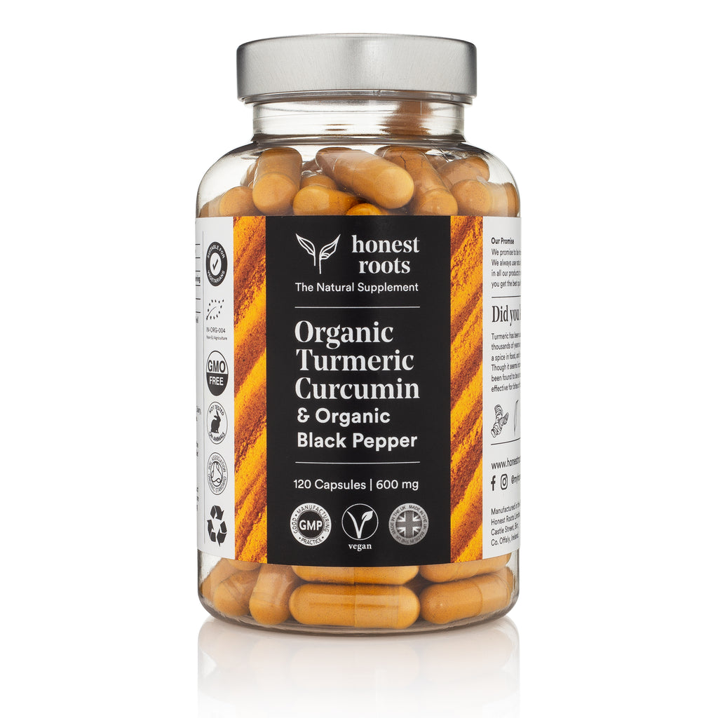 Organic Turmeric with Black Pepper - 120 Capsules