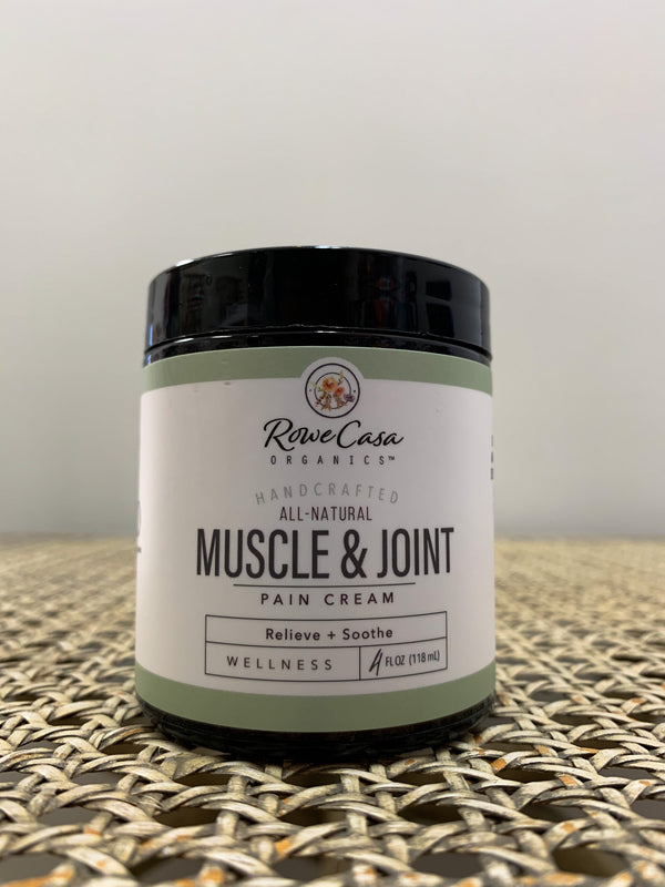 Rowe Casa Organics - Muscle & Joint Pain Cream | 4oz