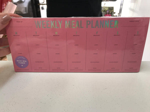 Taylor Elliott Designs- Weekly Meal Planner