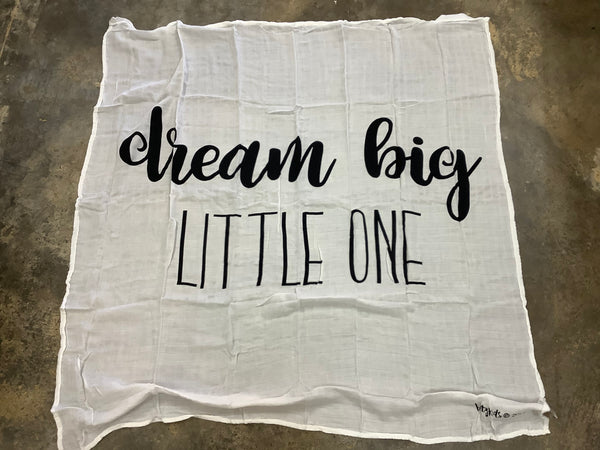 Dream Big Little One Swaddle