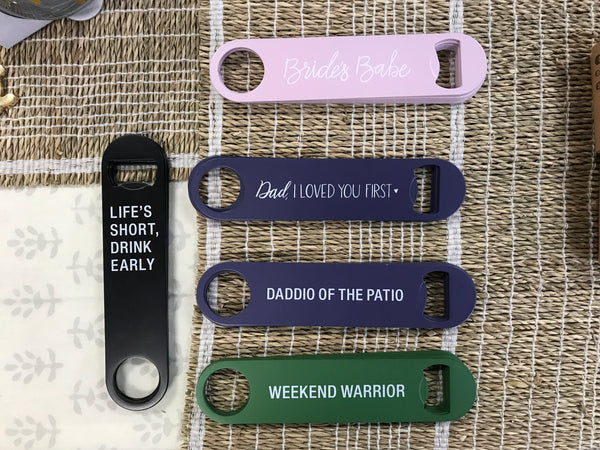 About Face - Bottle Opener