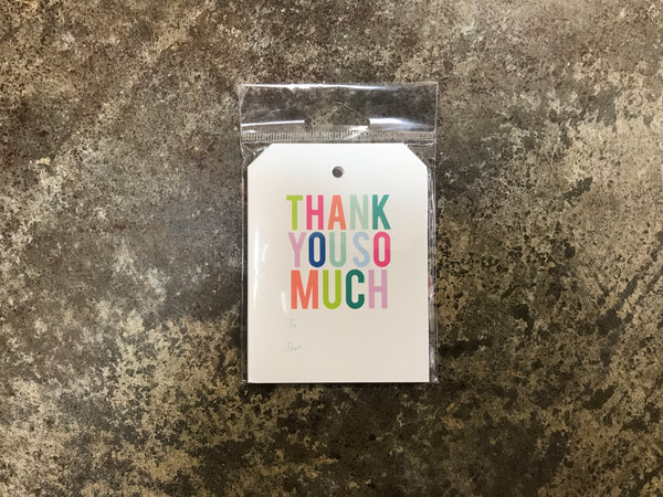 Joy Creative Shop - Thank You So Much Gift Tags