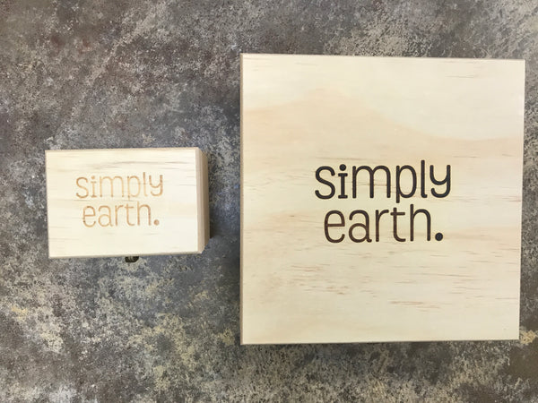 Simply Earth - Wooden Essential Oils Box