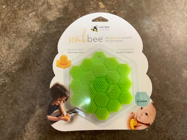 Big Bee, Little Bee - Silicone Body Scruber