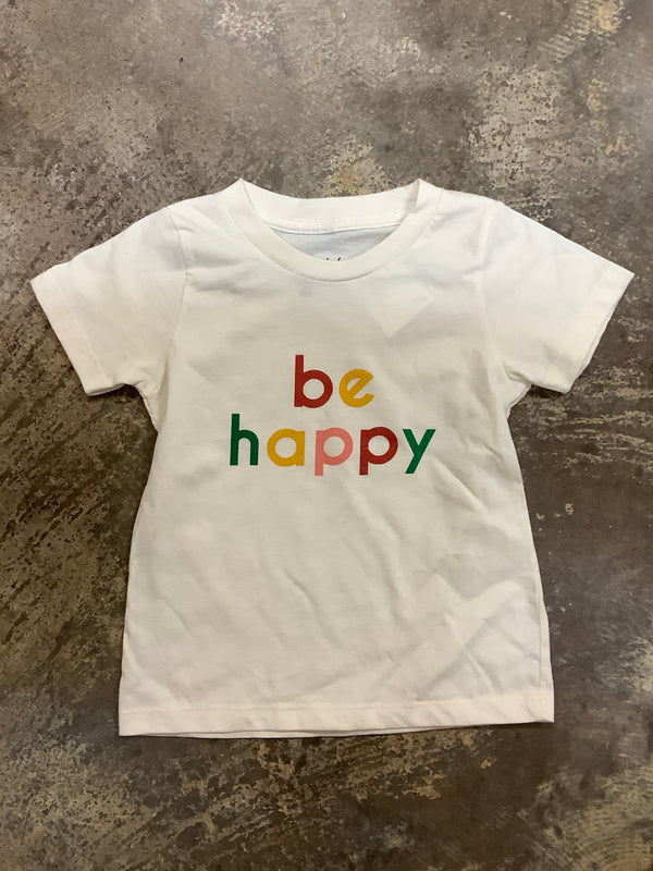 Polished Prints - Be Happy Tee