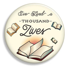 Lived a Thousand Lives Magnet - Fresh Frances Greeting Cards