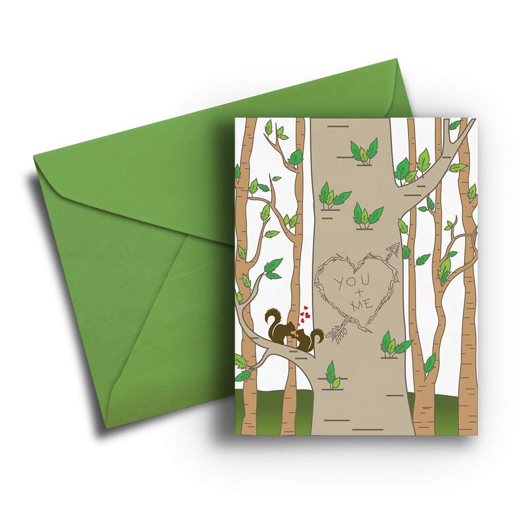 You & Me Tree Anniversary Card