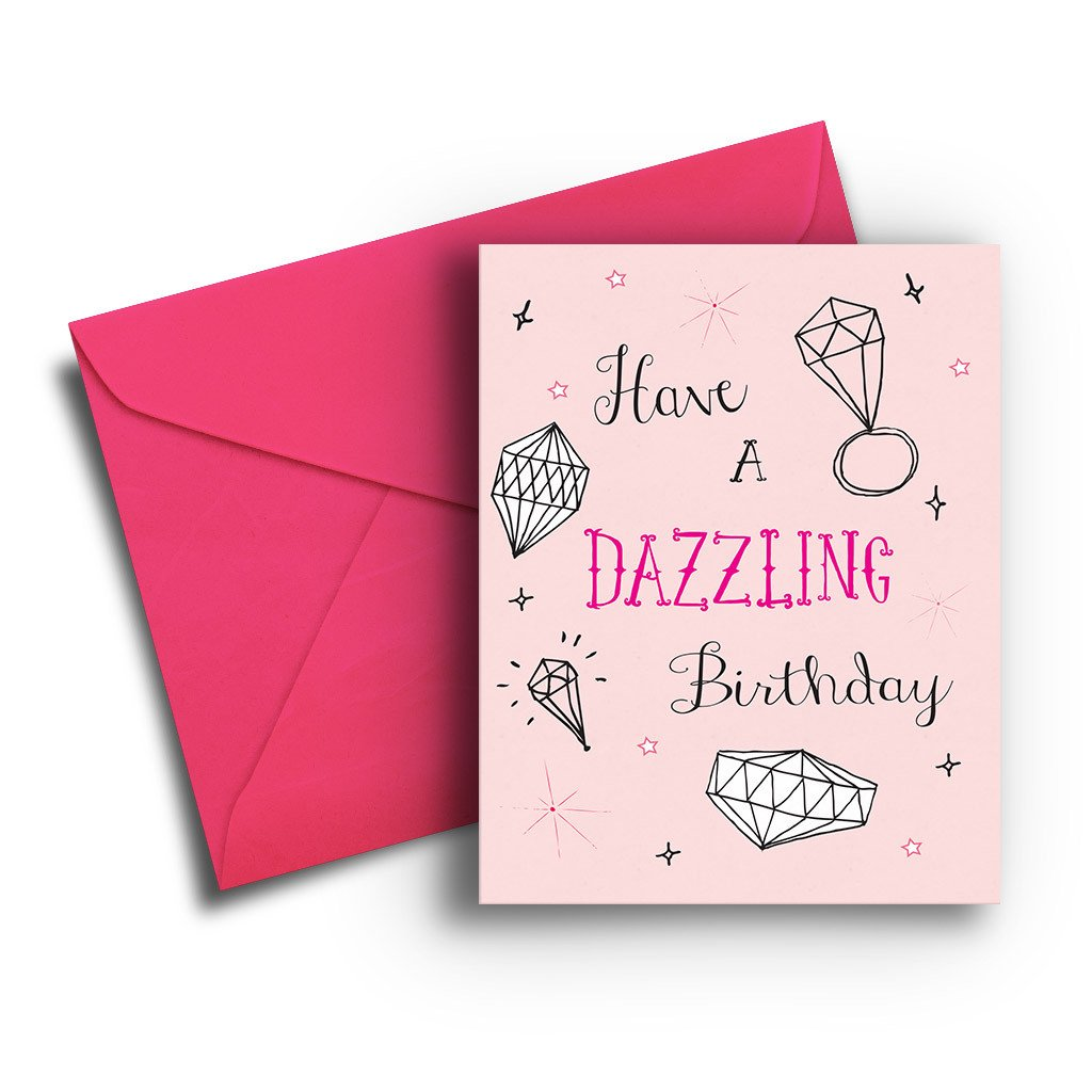 Dazzling Birthday Card - Fresh Frances Greeting Cards