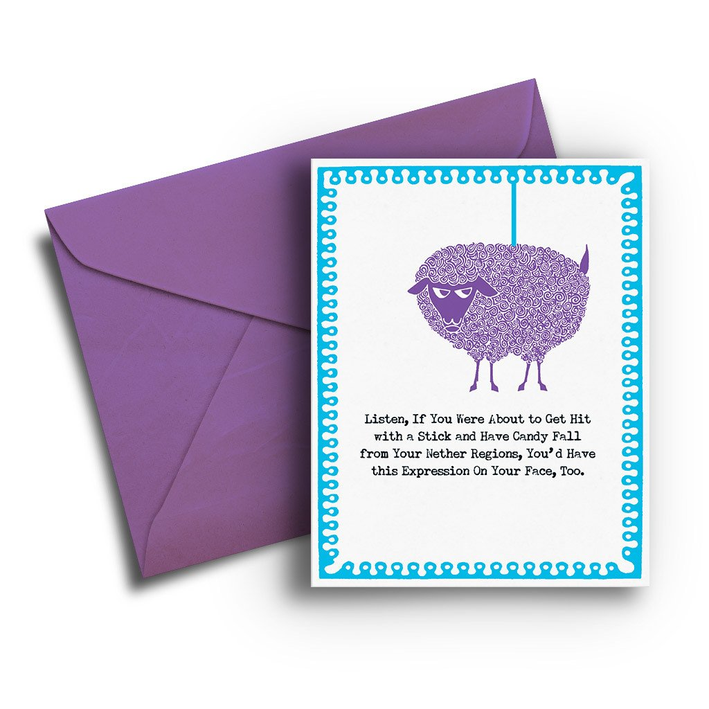 Piñata Birthday Card - Fresh Frances Greeting Cards