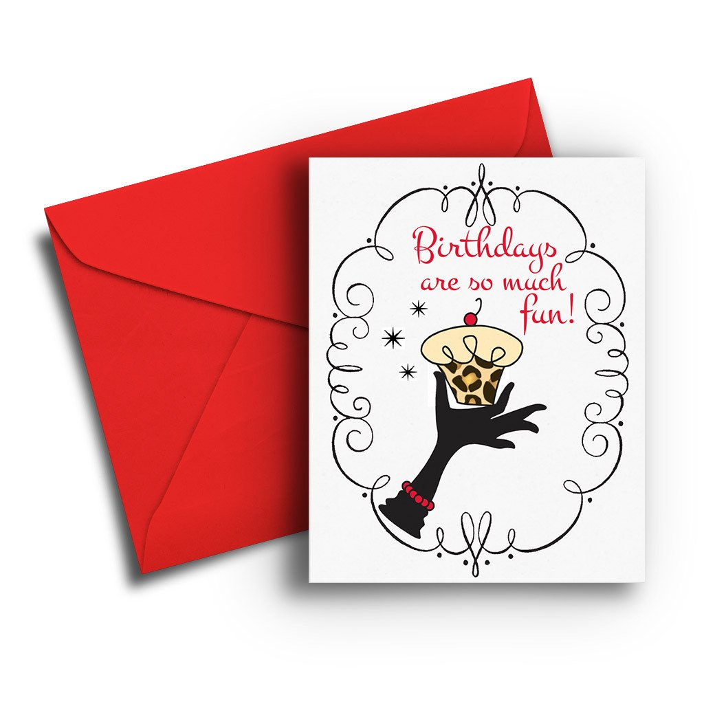 Birthday's So Much Fun Card - Fresh Frances Greeting Cards