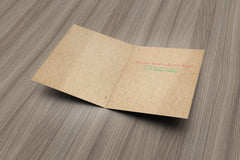 Brown Paper Packages Christmas Card - Fresh Frances Greeting Cards