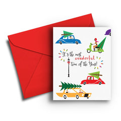 Wonderful Time of Year Christmas Card