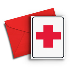 First Aid Get Well Card - Fresh Frances Greeting Cards