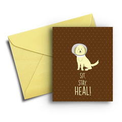 Heal! Card - Fresh Frances Greeting Cards