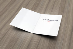 Thinking of You Get Well Card - Fresh Frances Greeting Cards