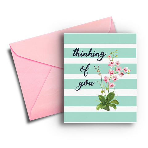 Thinking of You Get Well Card