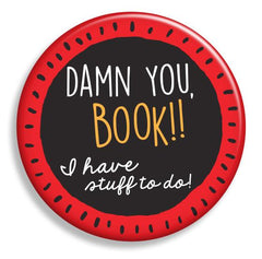 Damn You Book! Magnet - Fresh Frances Greeting Cards