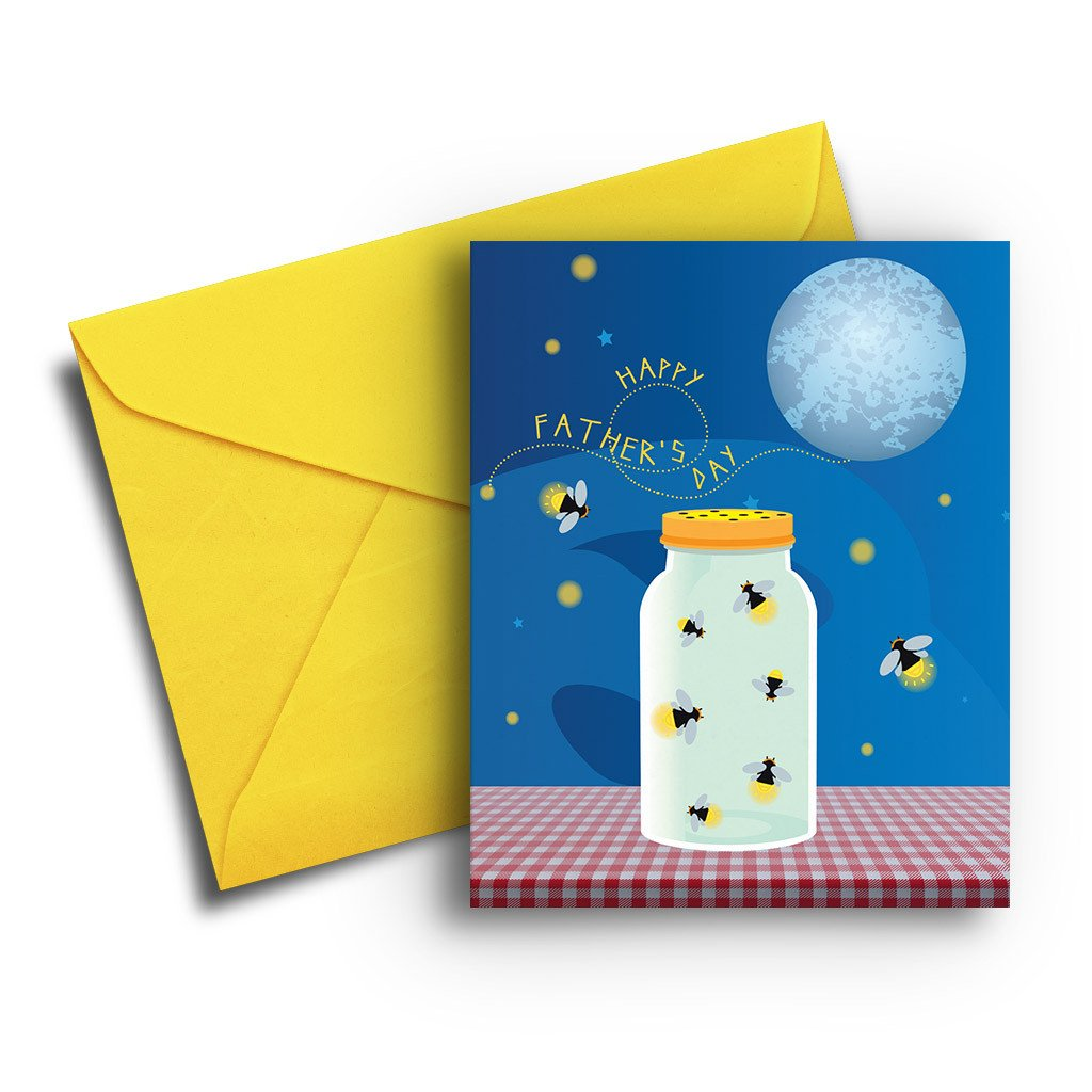 Firefly Father's Day Card - Fresh Frances Greeting Cards