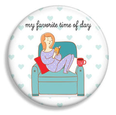 Favorite Time of Day Magnet - Fresh Frances Greeting Cards