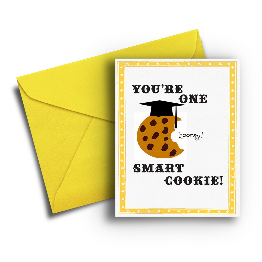 Smart Cookie Graduation Card - Fresh Frances Greeting Cards