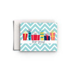 Gifts for You Gift Enclosure - Fresh Frances Greeting Cards