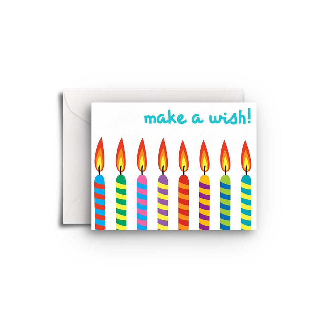 Make a Wish Gift Enclosure - Fresh Frances Greeting Cards