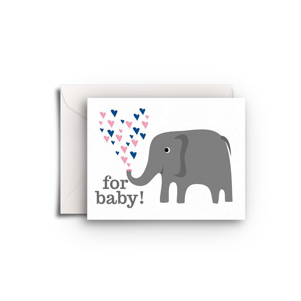 Elephant Gift Enclosures - Fresh Frances Greeting Cards