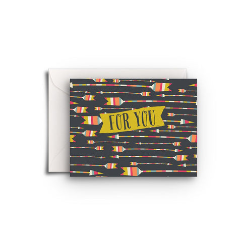 For You Arrows Gift Enclosure