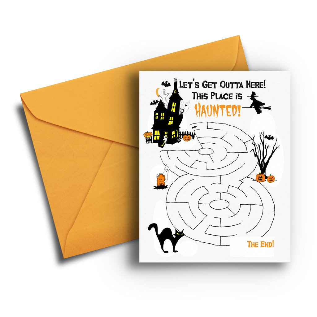 Halloween Maze - Fresh Frances Greeting Cards
