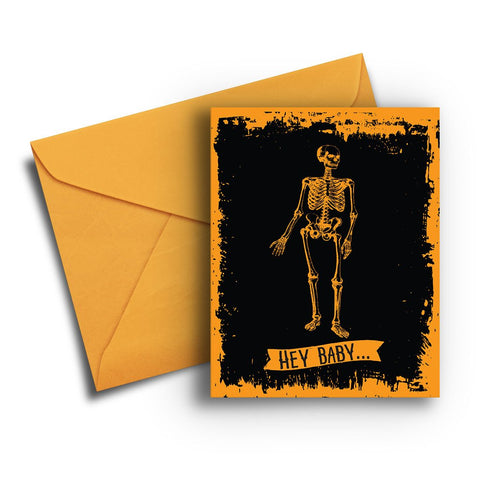 Let's Bone Halloween Card