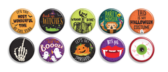 Halloween Buttons - Fresh Frances Greeting Cards