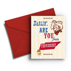 You from Tennessee Card