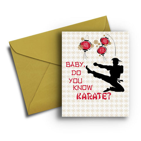 Know Karate Card