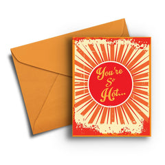 So Hot Global Warming Card - Fresh Frances Greeting Cards
