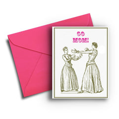 Boxing Mom's Mother's Day Card - Fresh Frances Greeting Cards