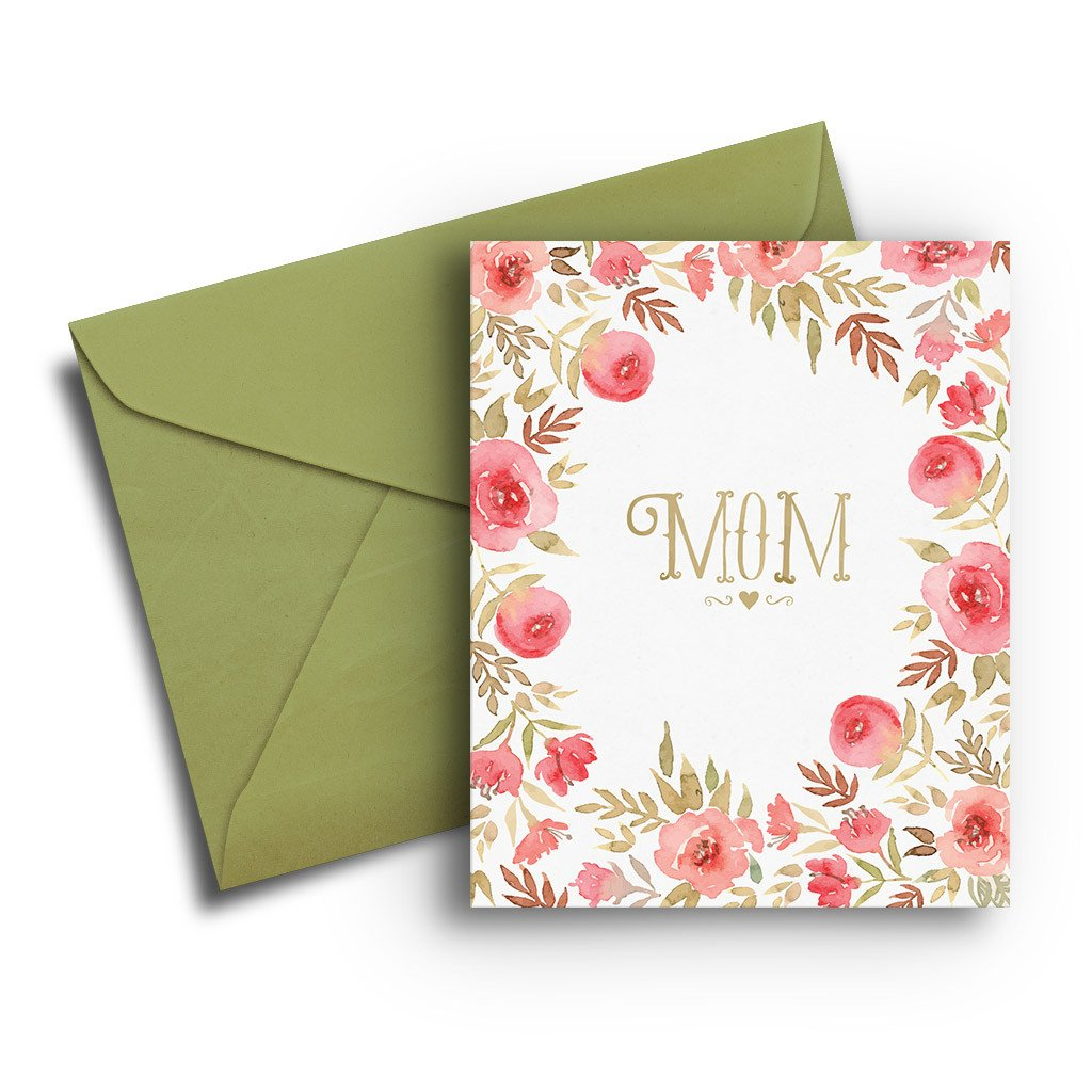 Roses Mother's Day Card - Fresh Frances Greeting Cards