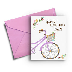 Bike's Mother's Day Card - Fresh Frances Greeting Cards