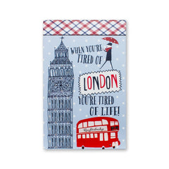 London Notebook - Fresh Frances Greeting Cards
